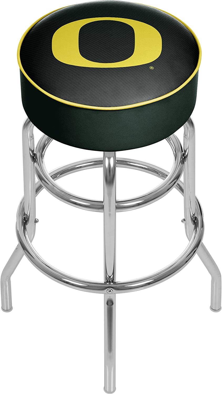 Trademark Cheap mail order sales Gameroom University of Oregon Bar Outlet sale feature Ca Chrome with Stool