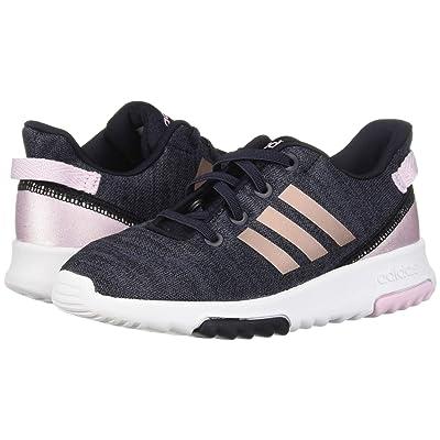 adidas Kids Cloudfoam Racer TR (Infant/Toddler) (Legend Ink/Vapor Grey Metallic/Aero Pink) Kids Shoes