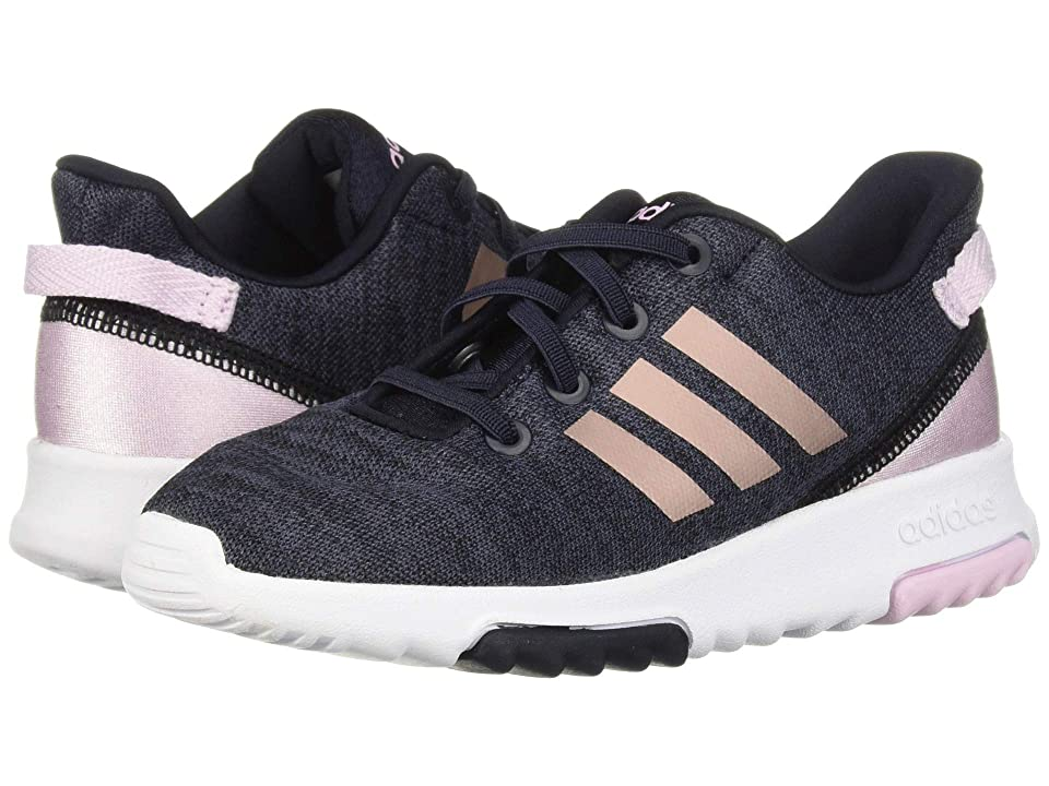 adidas Kids Cloudfoam Racer TR (Infant/Toddler) (Legend Ink/Vapor Grey Metallic/Aero Pink) Kids Shoes