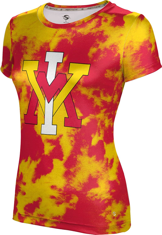 ProSphere Virginia Military Institute Girls' Performance T-Shirt (Grunge)