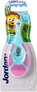 Jordan Step 1 Baby Toothbrush, 0-2 years, Assorted