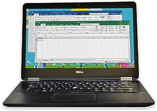 Dell Latitude E7450 14-Inch Ultrabook (Intel i5-5300U 2.3GHz, 8GB RAM, 256GB SSD, Windows 8.1 Pro), Black by Dell