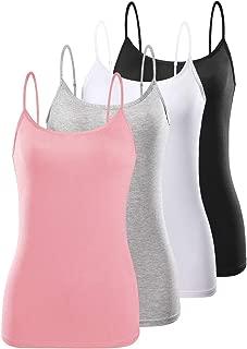 Adjustable Camisoles Women Basic Undershirt Spaghetti Strap Tank Top