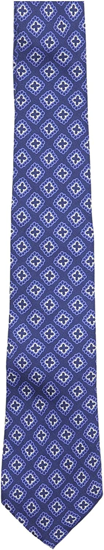 Canali Men's Diamond/Crosses Silk Necktie