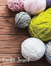 Crochet Journal: Graphghan Paper Crocheting DIY Patterns Book (Knitting Crechet Spinning Project Notebook)