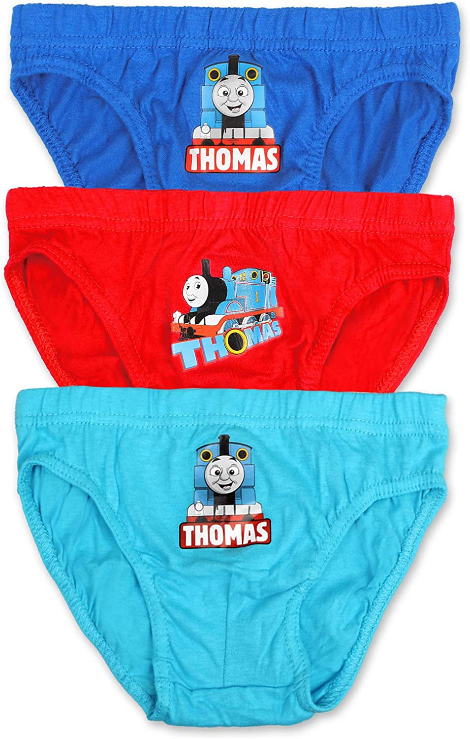 Boys Thomas Briefs Pants Underpants Underwear Slips - 3 Pack - Official  Licenced 100% Cotton (4-5 Years, Design 7): Amazon.co.uk: Clothing