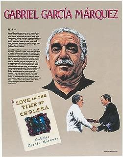 Knowledge Unlimited Inc. Gabriel Garcia Marquez- Hispanic Heritage Poster