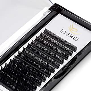 Eyelash Extensions 0.15mm D Curl 9-15mm Mixed Natural Eyelash Extension Supplies Individual Eyelashes Light Lashes Professional Salon Use Black Mink Lashes Extensions by EYEMEI (0.15-D-MIXED)