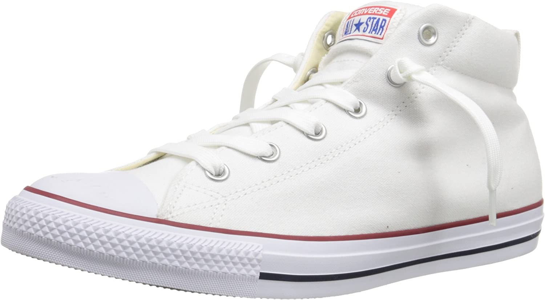 Amazon.com | Converse Men's Street Canvas Mid Top Sneaker ...