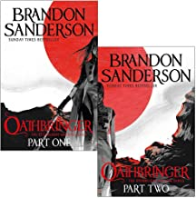 The Stormlight Archive Book Series 2 Books Set By Brandon Sanderson (Oathbringer Part 1 & 2)