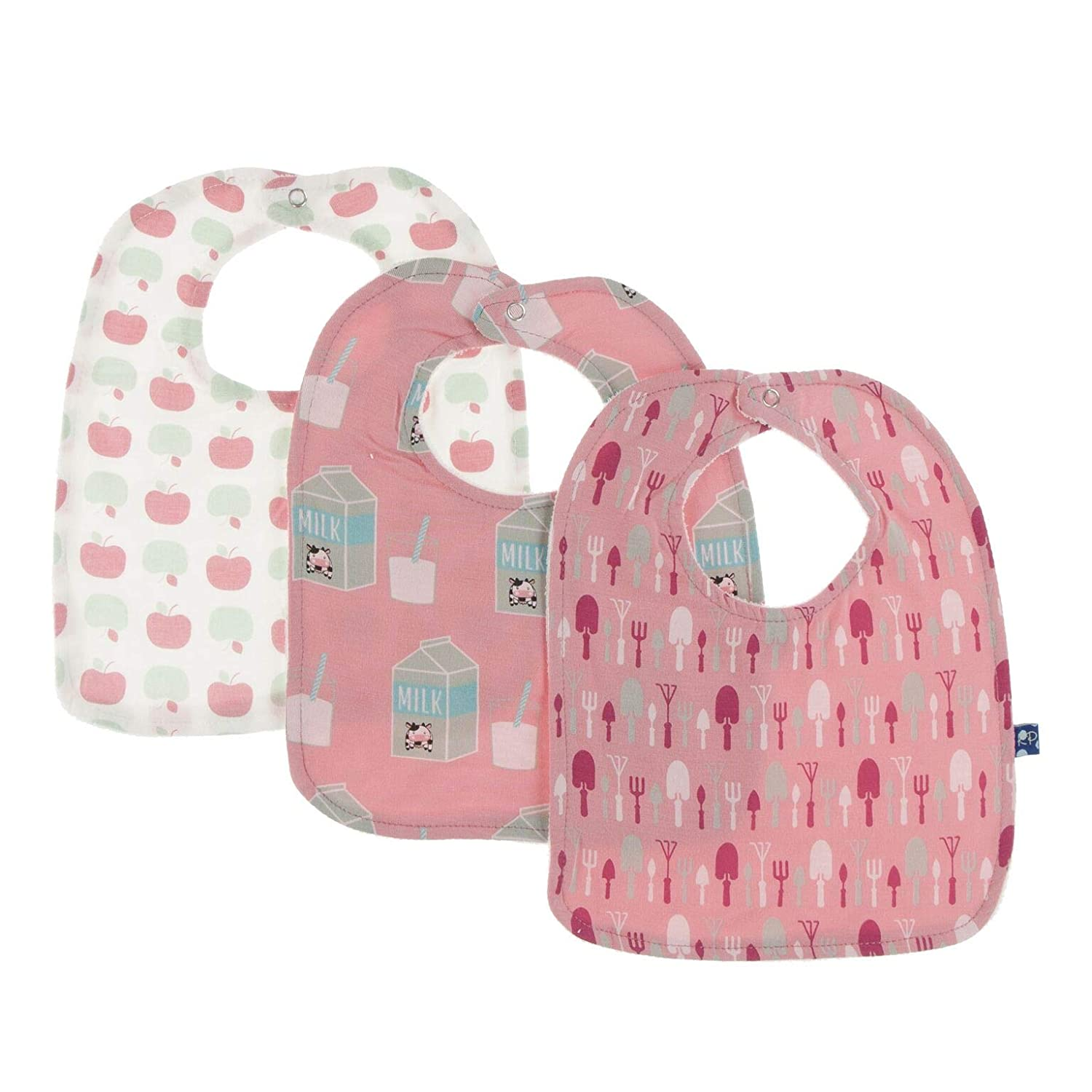 Apple and Strawberry Bibs