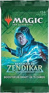 Booster de Draft de Magic: The Gathering Renascer de Zendikar   15 Cards   Produto em Português