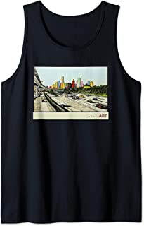 Houston Texas Skyline - BE SOMEONE Tank Top