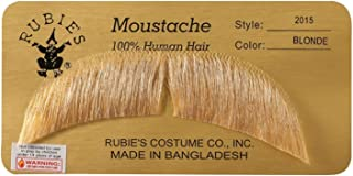 BASIC CHARACTER MUSTACHE, LIGHT BROWN [Apparel] White One Size