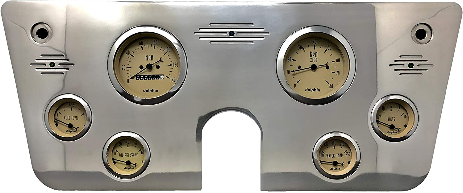 Dolphin Gauges 1967 1968 1969 1970 Chevy Gauge 6 1972 1971 Truck Our Seattle Mall shop most popular