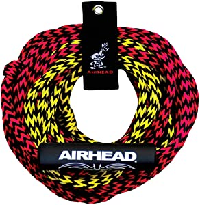 SPORTSSTUFF Half Pipe Rampage Inflatable Blow Up to 2 Riders Towable & Tow Rope