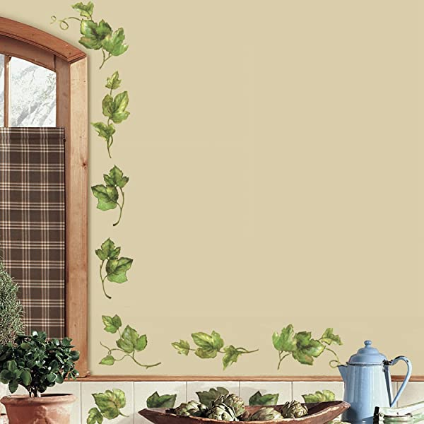 RoomMates Evergreen Ivy Peel And Stick Wall Decals