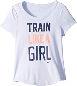 Dry Train Like A Girl T-Shirt (Little Kids/Big Kids)