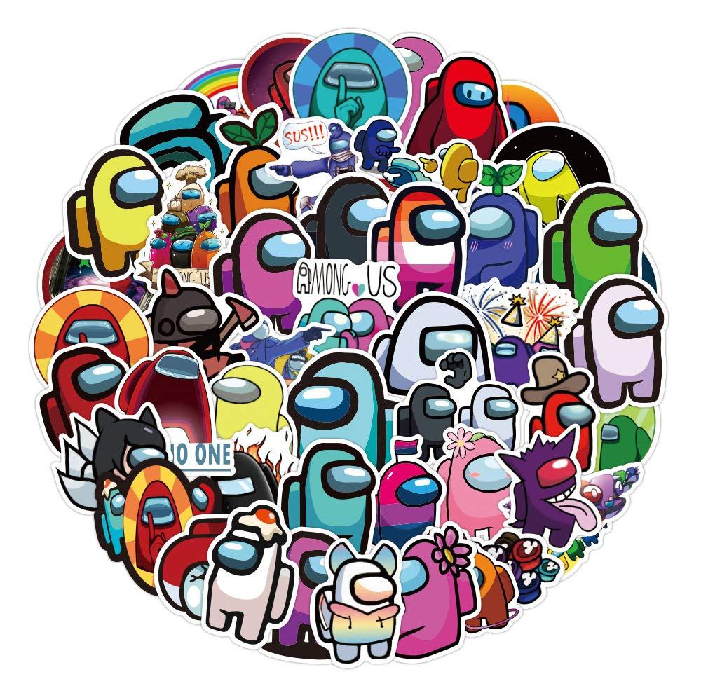Among Us Stickers 100Pcs//Pack