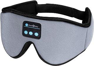 Sleep Headphones 3D Bluetooth Sleep Mask, MUSICOZY Wireless Music Eye Mask with Sleeping Headphones for Side Sleepers, Air...