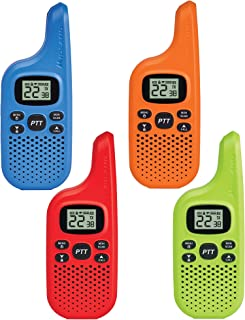 Midland - X-TALKER T20X4, Bright Colors & Fun for Kids | 22 Channel FRS Walkie Talkie - Two-Way Radio, 38 Privacy Codes, N...