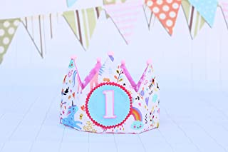 Corona compleanno con numeri da 1 a 5 bambina