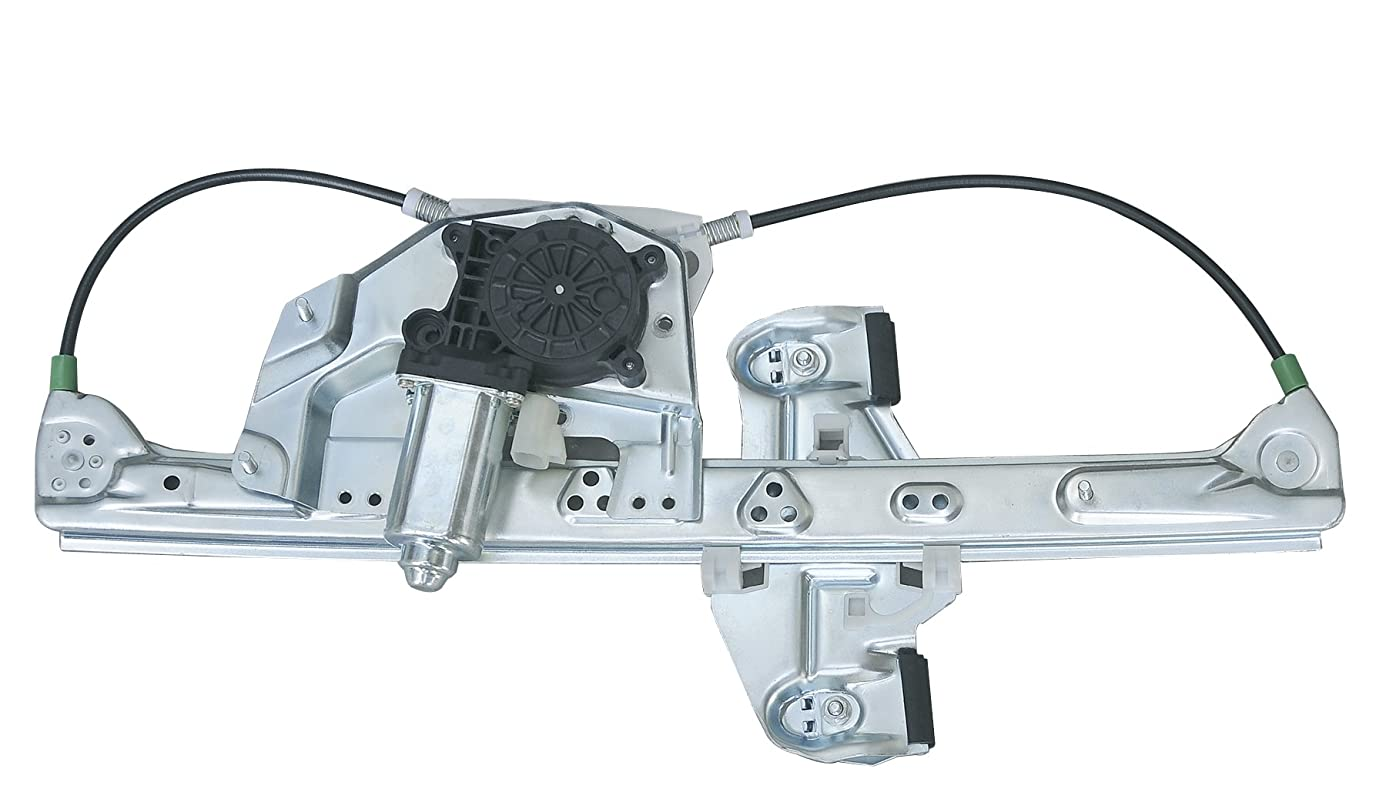 VioGi Fit Rear Passenger (Right) Side Power Window Regulator w/ Motor For 00-05 Cadillac DeVille xqk8354718