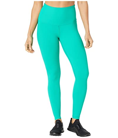 YEAR OF OURS Ribbed High High Leggings (Green) Women