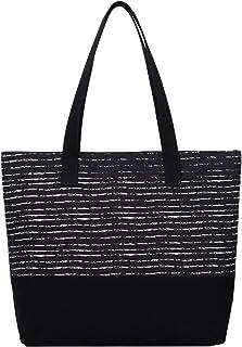 ArcEnCiel Women's Canvas Tote Bag (Horizontal Style)