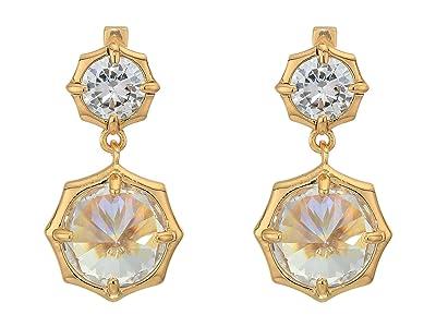 AllSaints Mini Drop Stud Earrings (Gold) Earring