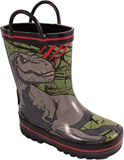 Favorite Characters Baby Boy's JPF500 Jurassic World¿ Rain Boot (Toddler/Little Kid)