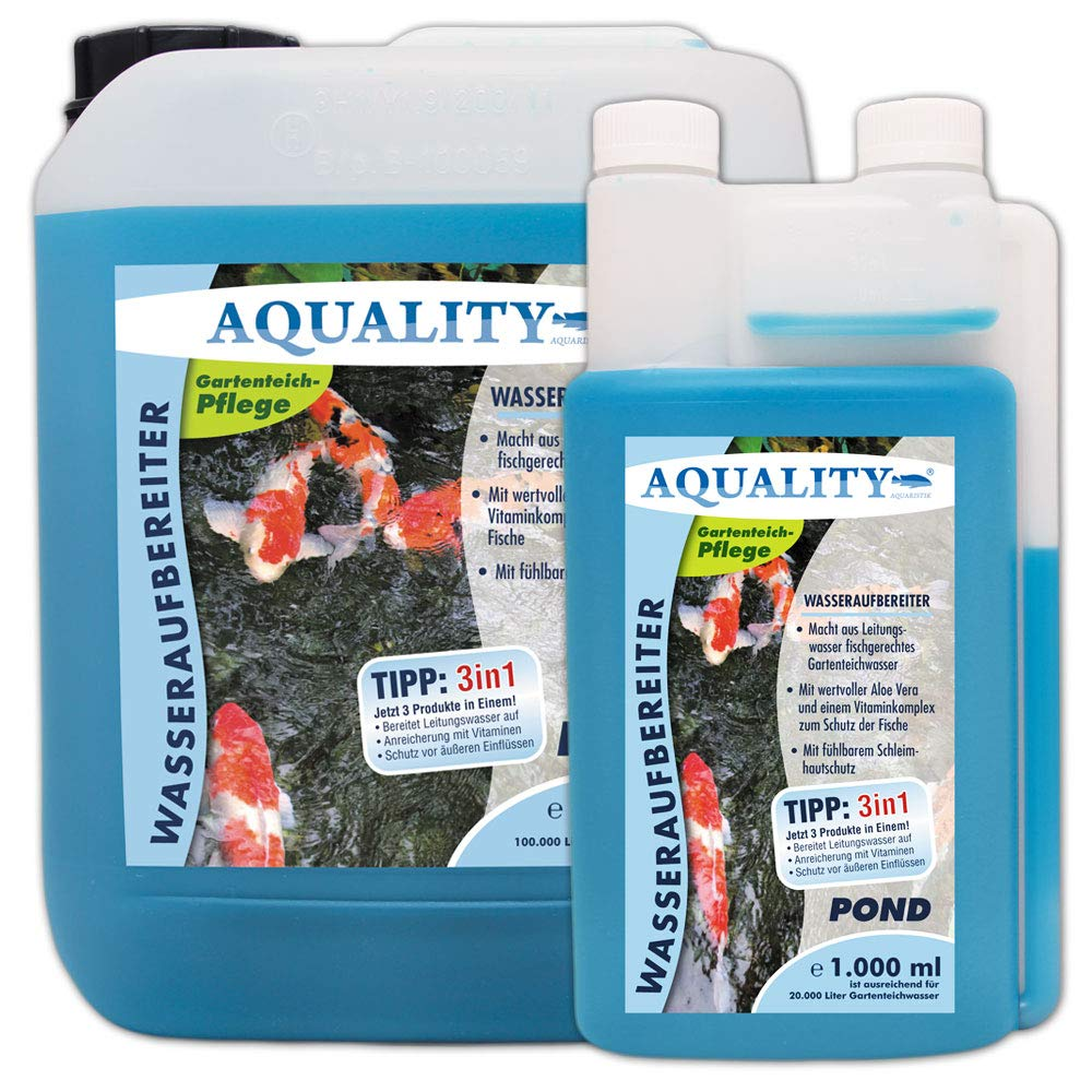 aquality de purificador de Agua Pond 5000 ML: Amazon.es: Jardín