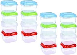 ARSUK BPA en plastique réutilisable récipient hermétique conteneurs avec couvercle empilable au micro-ondes congélateur au...