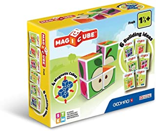 Geomag 131 Magicube Fruit - Magnetic Construction Cubes