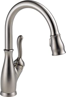Delta Faucet Leland Single-Handle Kitchen Sink Faucet with Pull Down Sprayer, ShieldSpray..