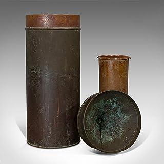 Pluviometro antico, inglese, Udometro, Ombrometro, Registratore di pioggia, Vittoriano