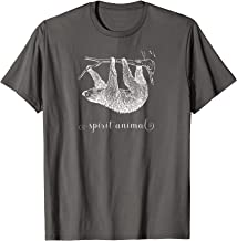 Sloth Spirit Animal Cute T-Shirt