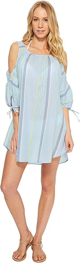 Echo Design - Sunset Stripe Cold Shoulder
