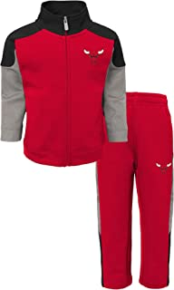 NBA Chicago Bulls-Sweater and Jog Pants Set Conjunto Ropa Deportiva para Niños