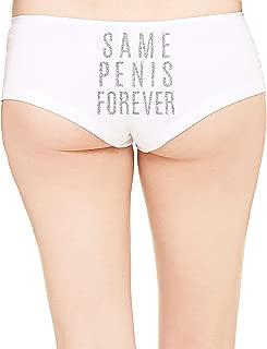 RhinestoneSash Christmas Panites for Women - Holiday Underwear - Stocking Stuffers for Women