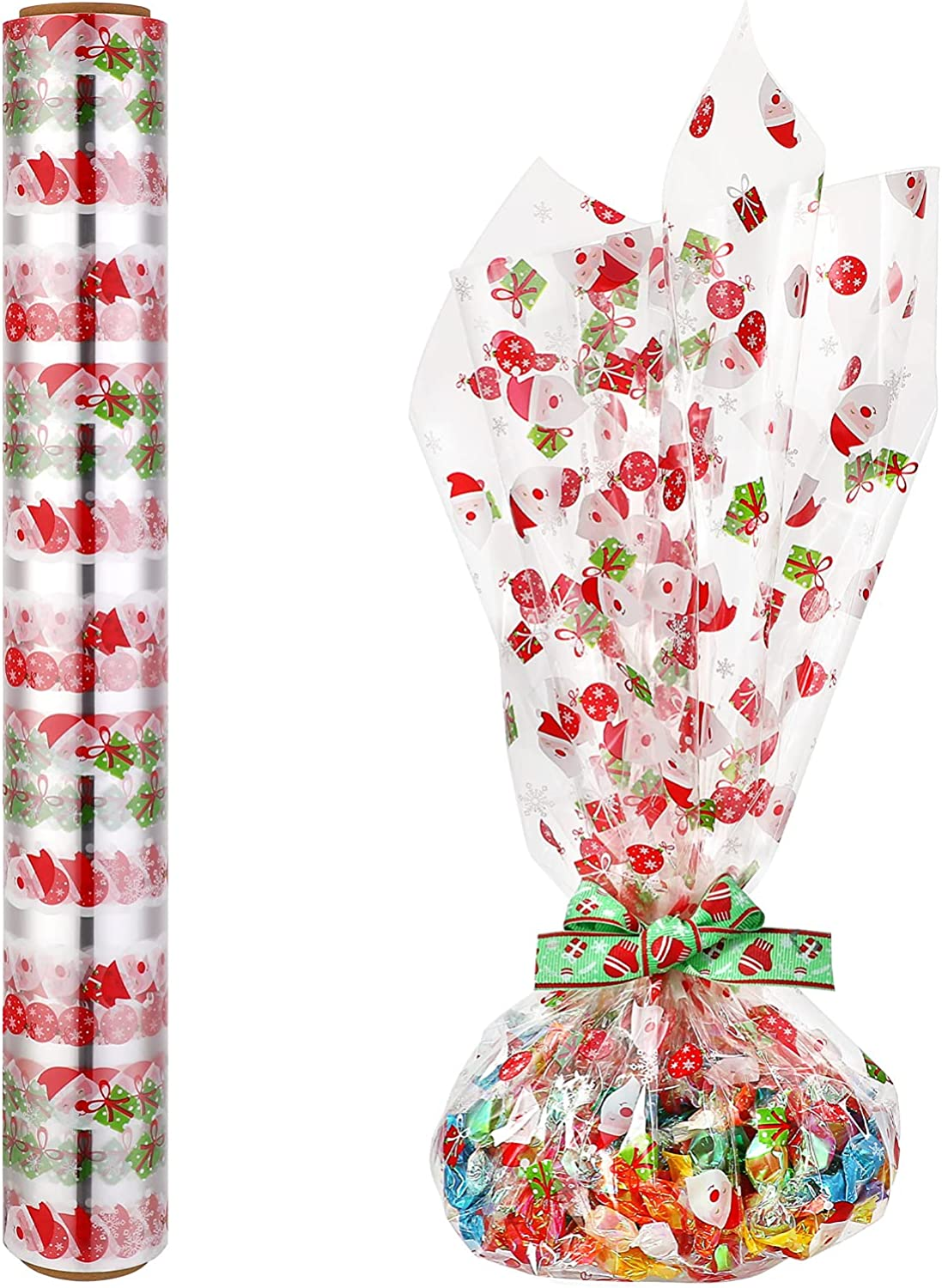 Kisangel 1pc Cellophane Wrap Roll Gift Clear Max New color 89% OFF Paper Wr