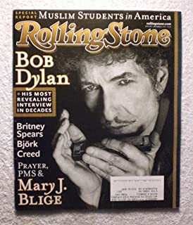 Bob Dylan - His Most Revealing Interview in Decades - Rolling Stone Magazine - #882 - November 22, 2001 - Special Report: Muslim Students in America, Mary J Blige articles