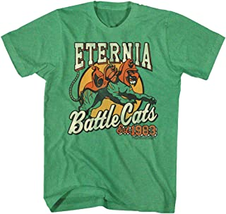 Masters of The Universe TV Series Eternia Battle Cats Est 1983 Adult T-Shirt Tee