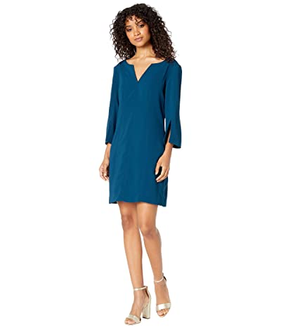 Trina Turk Cline Dress (Bordeaux Blue) Women