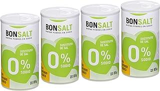 comprar comparacion Bonsalt Sal 0% Sodio - Paquete de 4 x 85 gr - Total: 340 gr