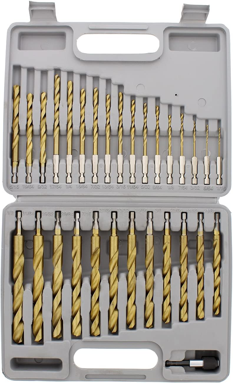 ABN Quick-Change 1 4in Hex Shank Forged A surprise price is Dealing full price reduction realized Roller Set and 30-Piece