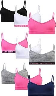 Girls Seamless V-Neck Training Bra 9 Pack