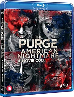 La Purge : American Nightmare - Coffret 4 Films [Blu Ray] [Blu-ray]