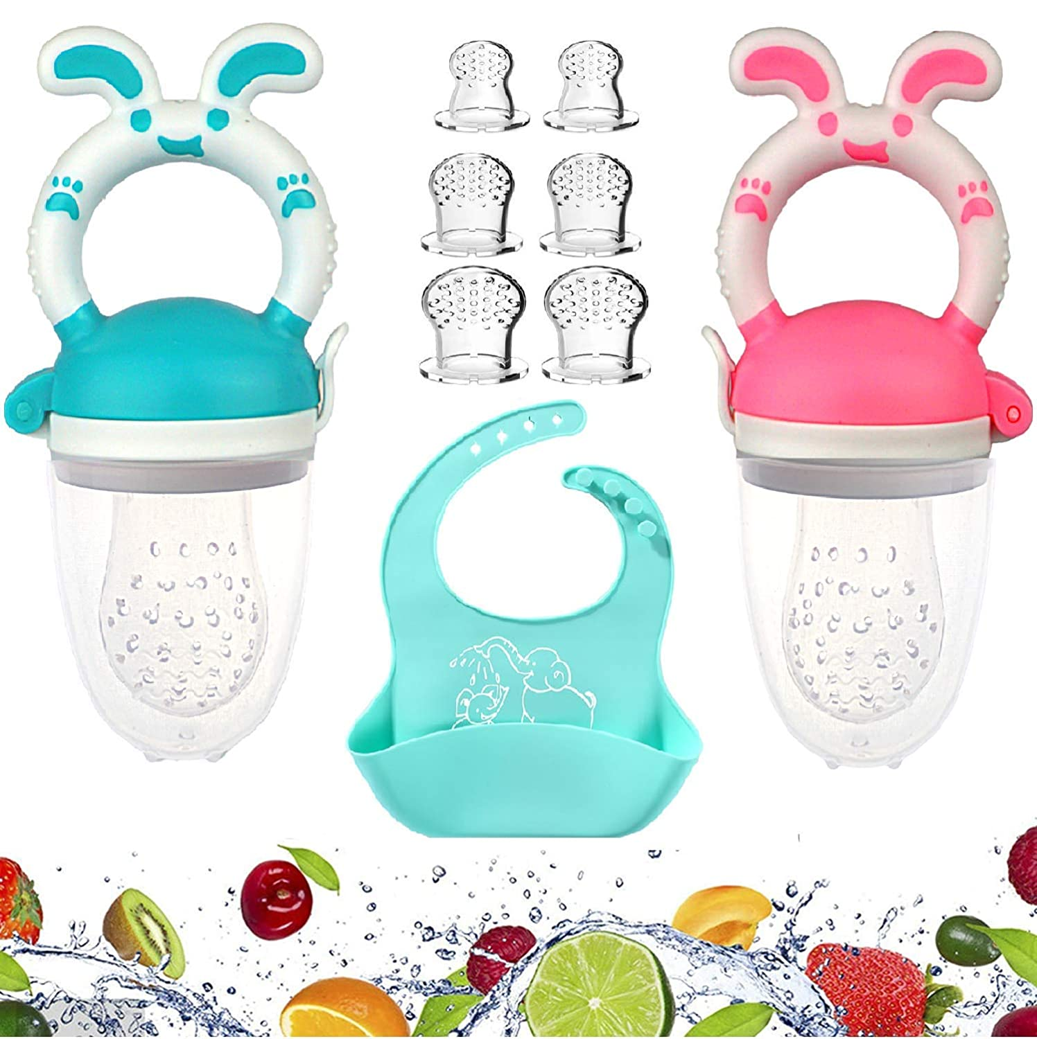 Baby Food Feeder Fresh - 2 6 store Limited time trial price Pack Pacifier Fruit D