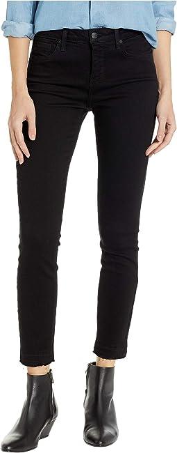 Ami Skinny Ankle w/ Release Hem in Black